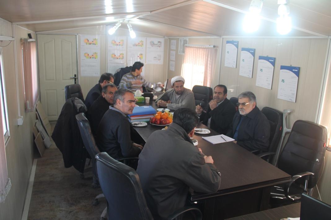 بازدید از پروژه ساختمان دادگستری کل استان همدان – پاراوان گستر شمالHam_10_94_1