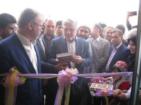 دکتر نوربخش در افتتاح درمانگاه شهدای پلدختر