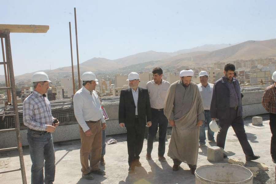 بازدید از پروژه ساختمان دادگستری استان همدان – پاراوان گستر شمالhamedan_6_-67