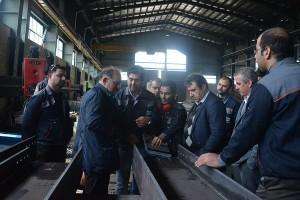 بازدید شرکت افق و نمایندگان BC انگلستان از کارخانه رناپ