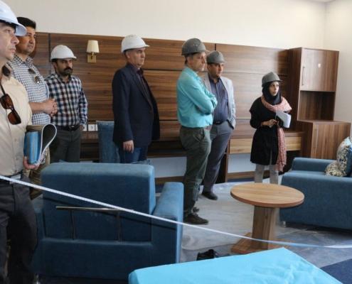 بازدید پروژه اقامتگاه زیارتی، سیاحتی جواد الائمه(ع) مشهد